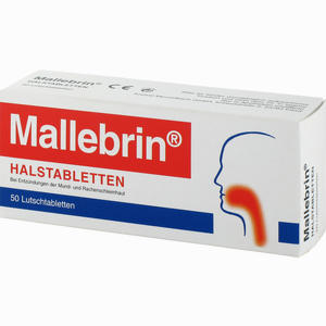 Abbildung von Mallebrin Halstabletten  50 Stück