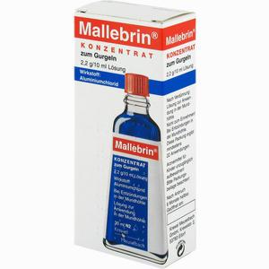Abbildung von Mallebrin Konzentrat Zum Gurgeln Lösung 30 ml