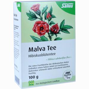 Abbildung von Malvatee Hibiskusblütentee Bio Salus Tee 100 g