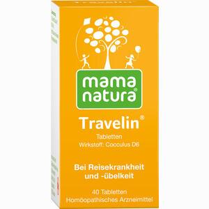 Abbildung von Mama Natura Travelin Reisetabletten  40 Stück