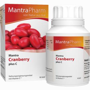 Abbildung von Mantra Cranberry Plus C Kapseln 90 Stück