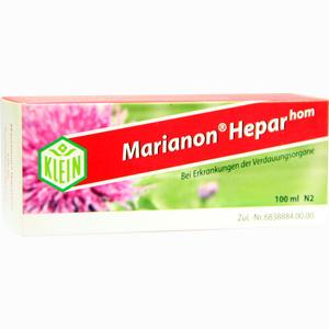 Abbildung von Marianon Heparhom Tropfen 100 ml