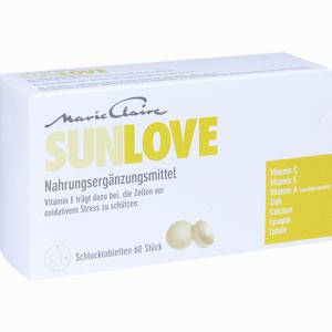 Abbildung von Marie Claire Sunlove Tabletten 60 Stück