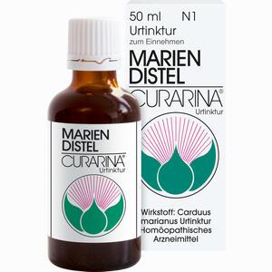 Abbildung von Mariendistel Curarina Urtinktur Tropfen 50 ml