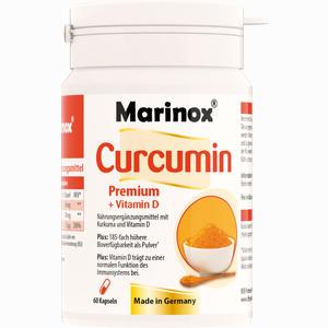 Abbildung von Marinox Curcumin Premium + Vitamin D Hartkapseln 60 Stück
