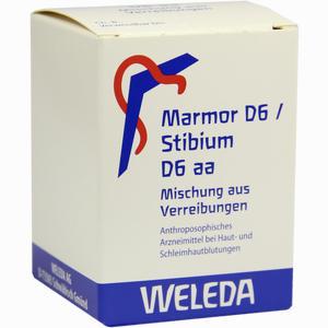 Abbildung von Marmor D6/Stibium D6 Aa 50 g