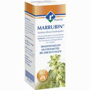 Abbildung von Marrubin Andorn- Bronchialtropfen  50 ml