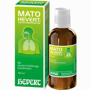 Abbildung von Mato Hevert Erkältungstropfen  100 ml