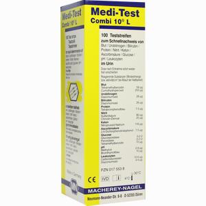 Abbildung von Medi Test Combi 10 L Teststreifen 100 Stück