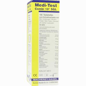 Abbildung von Medi- Test Combi 10 Sgl Teststreifen 100 Stück