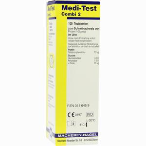 Abbildung von Medi Test Combi 2 Teststreifen  100 Stück