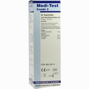 Abbildung von Medi- Test Combi 2 Teststreifen 50 Stück