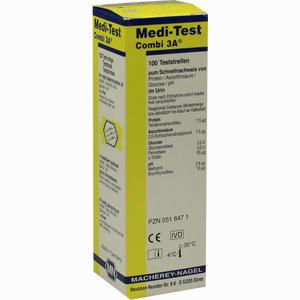 Abbildung von Medi Test Combi 3a Teststreifen  100 Stück