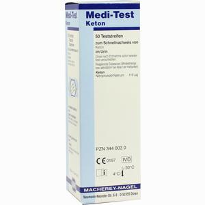 Abbildung von Medi- Test Keton Teststreifen 50 Stück