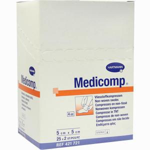 Abbildung von Medicomp 5x5cm Sterile Kompressen  25 x 2 Stück