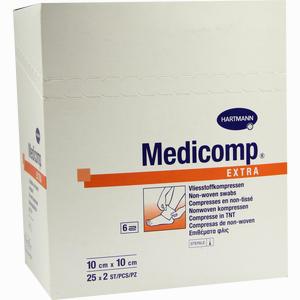 Abbildung von Medicomp Extra 10x10cm Sterile Kompressen  25 x 2 Stück