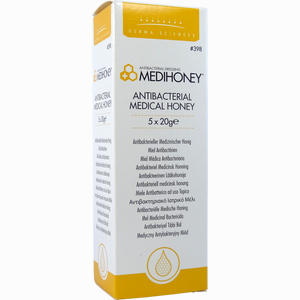 Abbildung von Medihoney Antibakterieller Medizinischer Honig Gel 5 x 20 g
