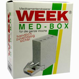Abbildung von Medikamenten- Dispenser Grün 1 Stück