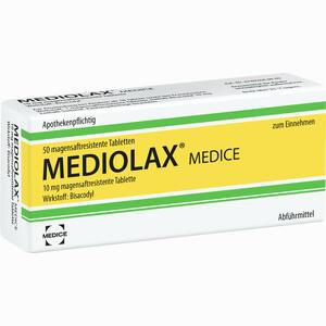 Abbildung von Mediolax Medice Tabletten 50 Stück