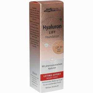 Abbildung von Medipharma Cosmetics Hyaluron Lift Foundation Soft Nude 30 ml