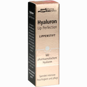 Abbildung von Medipharma Cosmetics Hyaluron Lip Perfection Lippenstift Red 4 g