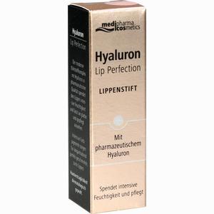 Abbildung von Medipharma Cosmetics Hyaluron Lip Perfection Lippenstift Rose 4 g