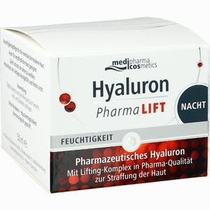 Abbildung von Medipharma Cosmetics Hyaluron Pharma Lift Nacht Creme 50 ml
