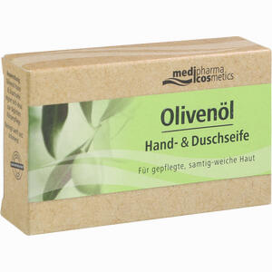 Abbildung von Medipharma Cosmetics Olivenöl Hand- und Duschseife  100 g