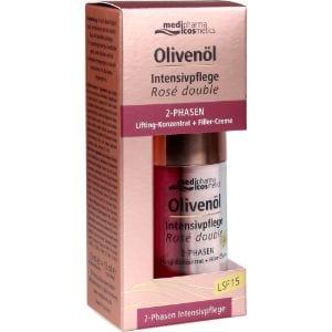 Abbildung von Medipharma Cosmetics Olivenöl Intensivpflege Rose Double Creme 2 x 15 ml