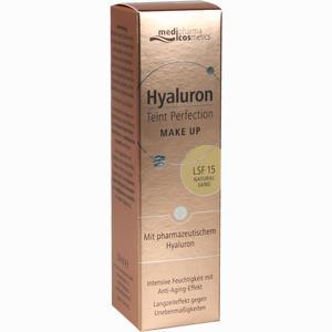 Abbildung von Medipharma Hyaluron Teint Perfection Make- Up Natural Sand Fluid 30 ml