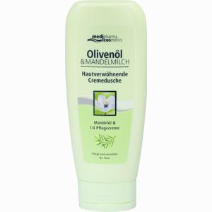 Abbildung von Medipharma Oliven Mandelmilch Hautverwöhnende Cremedusche Duschgel 200 ml