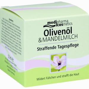 Abbildung von Medipharma Oliven- Mandelmilch Straffende Tagespflege Tagescreme 50 ml