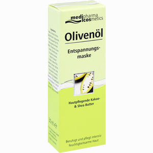 Abbildung von Medipharma Olivenöl Entspannungsmaske Creme 30 ml