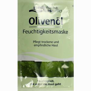 Abbildung von Medipharma Olivenöl Feuchtigkeitsmaske Gesichtsmaske 15 ml