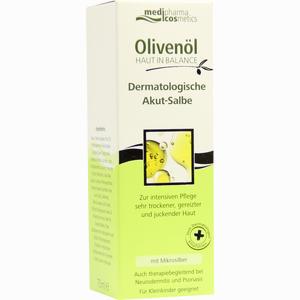 Abbildung von Medipharma Olivenöl Haut in Balance Dermatologische Akut Salbe  75 ml