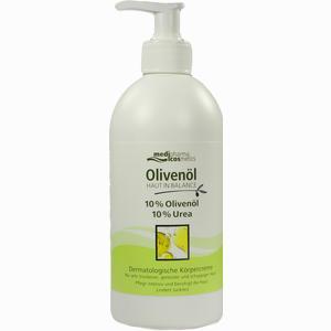 Abbildung von Medipharma Olivenöl Haut in Balance Dermatologische Körpercreme 10%  500 ml