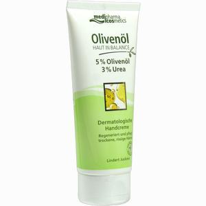 Abbildung von Medipharma Olivenöl Haut in Balance Handcreme 5%  100 ml
