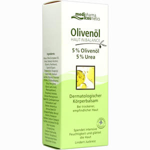 Abbildung von Medipharma Olivenöl Haut in Balance Körperbalsam 5%  200 ml