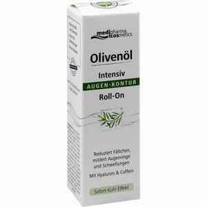Abbildung von Medipharma Olivenöl Intensiv Augen- Kontur Roll- On 15 ml