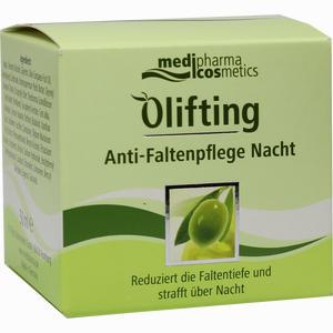 Abbildung von Medipharma Olivenöl Olifting Anti- Faltenpflege Nacht 50 ml