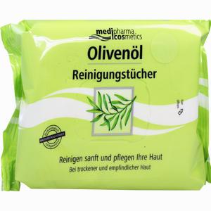 Abbildung von Medipharma Olivenöl Reinigungstücher  25 Stück