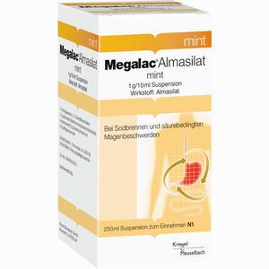 Abbildung von Megalac Almasilat Mint Suspension  250 ml
