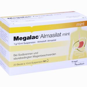 Abbildung von Megalac Almasilat Mint Suspension  20 x 10 ml
