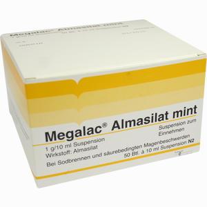Abbildung von Megalac Almasilat Mint Suspension  50 x 10 ml