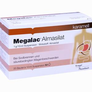 Abbildung von Megalac Almasilat Suspension 20 x 10 ml