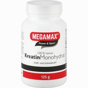 Abbildung von Megamax 100% Reines Kreatin Monohydrat Pulver 125 g