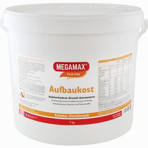 Abbildung von Megamax Aufbaukost Schoko Pulver 7 KG