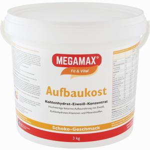Abbildung von Megamax Aufbaukost Schoko Pulver 3 KG