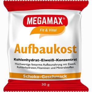 Abbildung von Megamax Aufbaukost Schoko Pulver 30 g