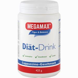 Abbildung von Megamax Diät Drink Cappucino Einzelportion Pulver 425 g